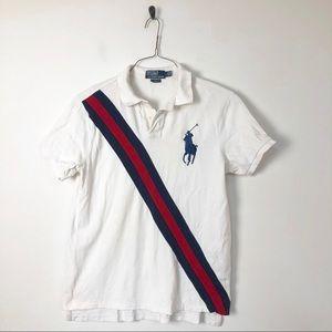 POLO Ralph Lauren big logo rugby short sleeve polo